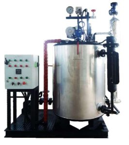 Steam Boiler Model vertikal