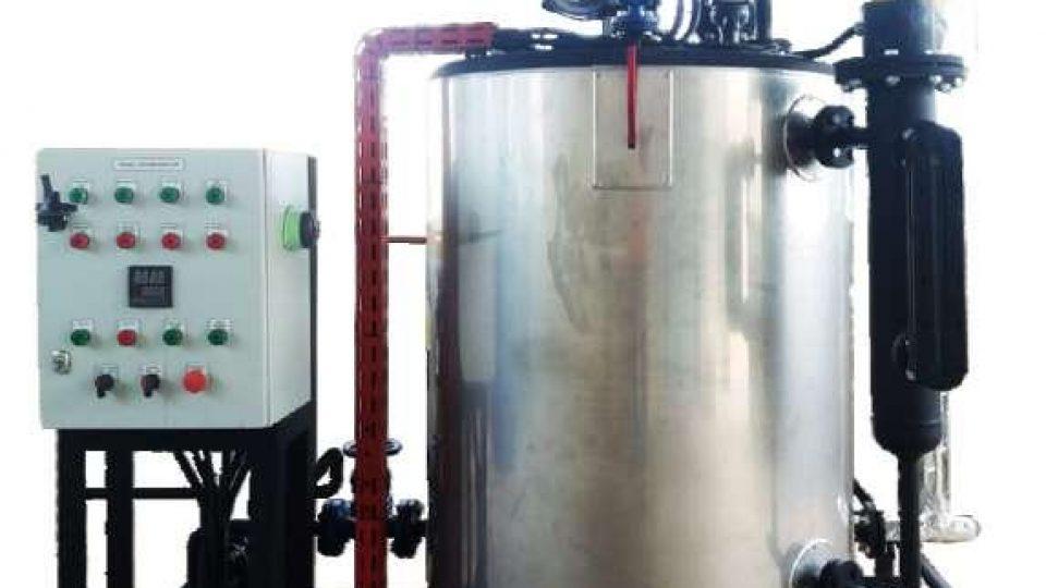 Steam Boiler Model Vertikal