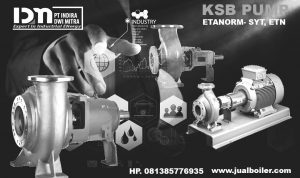 Prat mesin industri pump KSB