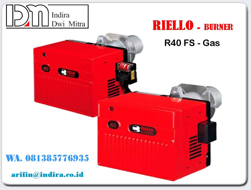 Burner Riello R40 FS- Gas