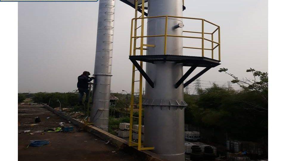 Cimney Cerobong boiler