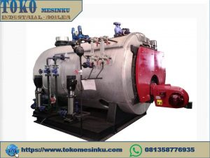 Jual boiler fire tube