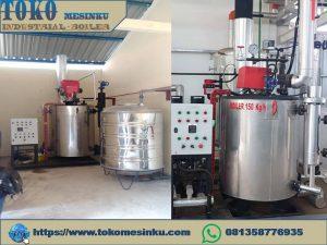Steam boiler solar