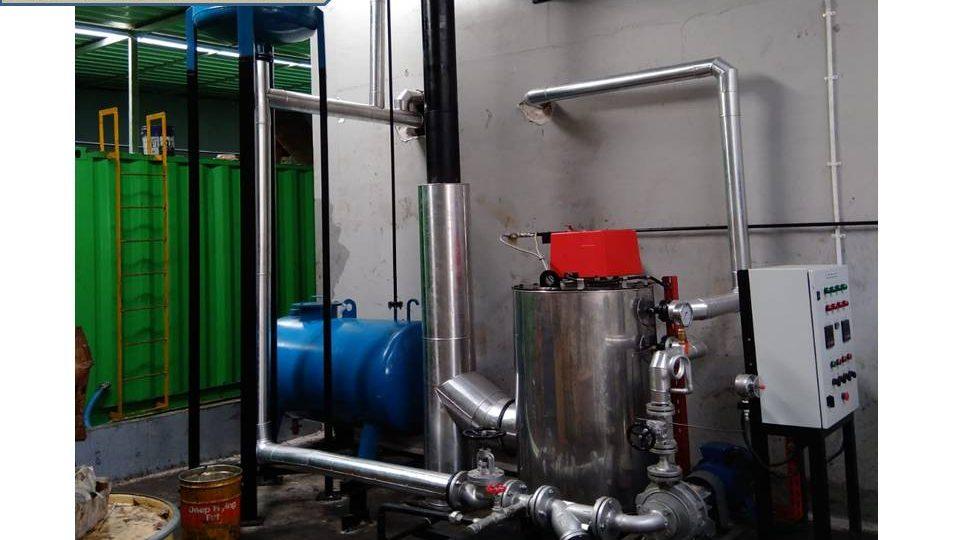 thermal oil vertikal