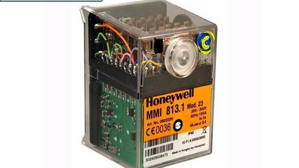 Honeywell control burner