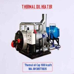 Thermal oil heater cap 100.000 kcal