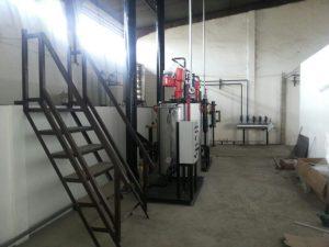 steam boiler vertikal