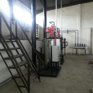 steam boiler vertikal