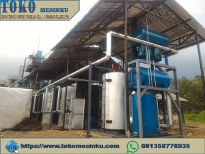 thermal oil heater vertikal