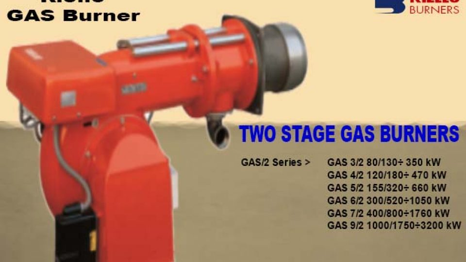GAS BURNER RIELLO GAS. 2