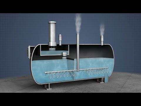 Dearator tank boiler