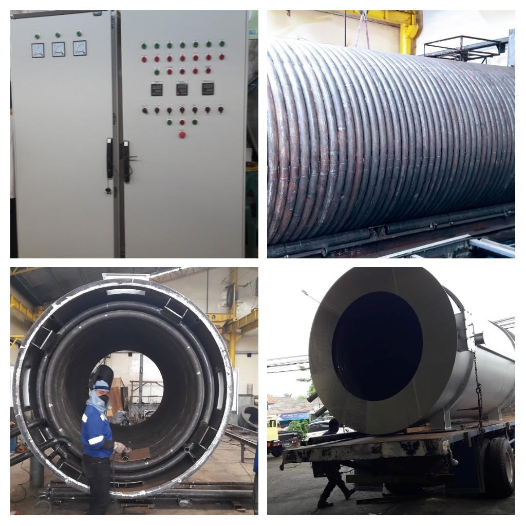 service boiler steam