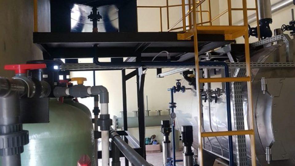 Perawatan air pada boiler