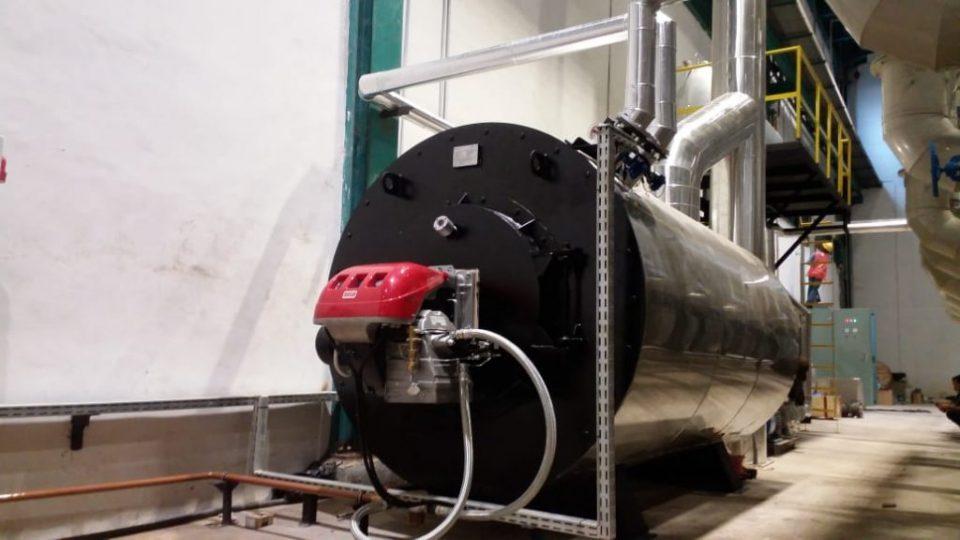 hot water boiler industri