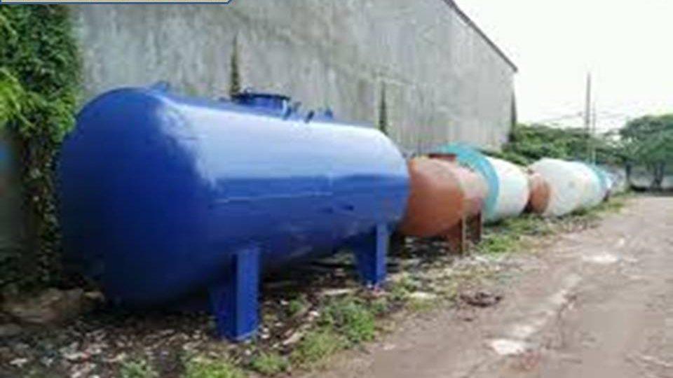 Pembuatan tanki Aspal