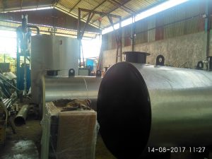 Fabrikasi tanki penampung