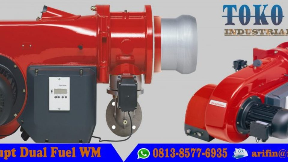 Weishaupt WM s for dual-fuel