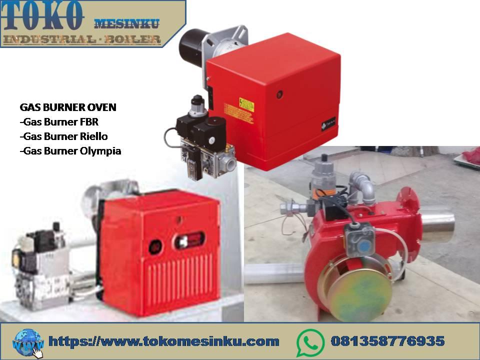 Gas Burner Oven