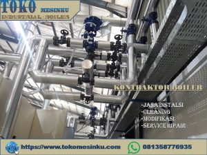 Instalasi boiler idm