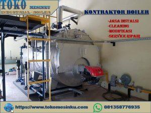 Jasa instalasi boiler