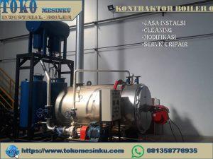 instalasi boiler oil