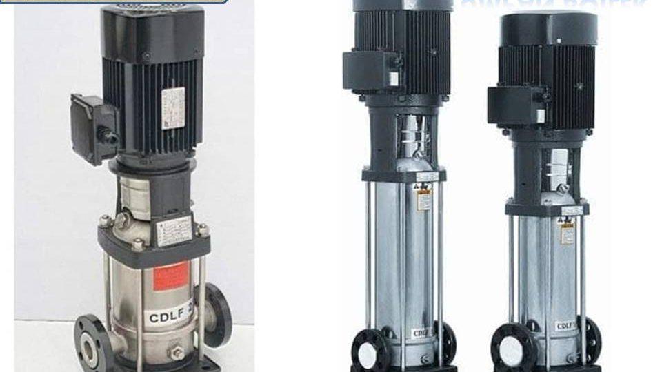 Pompa boiler multistage