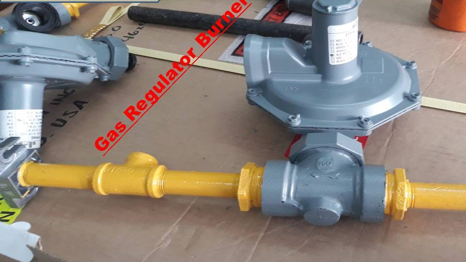Regulator Burner Gas