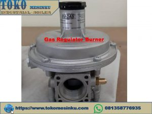 Regulator gas Burner